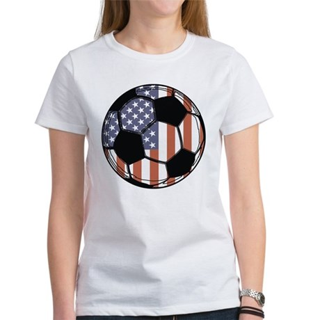 Soccer Ball USA Women's T-Shirt