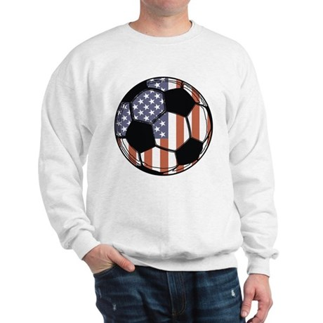 Soccer Ball USA Sweatshirt