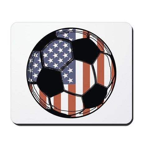 Soccer Ball USA Mousepad