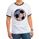 Soccer Ball USA Ringer T