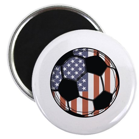 "Soccer Ball USA 2.25"" Magnet (100 pack)"