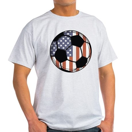 Soccer Ball USA Light T-Shirt