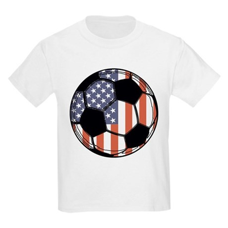 Soccer Ball USA Kids Light T-Shirt