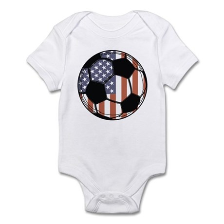 Soccer Ball USA Infant Bodysuit