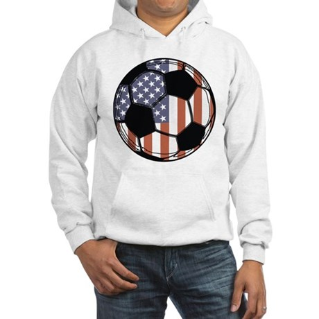 Soccer Ball USA Hooded Sweatshirt