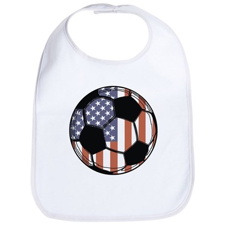 Soccer Ball USA Bib