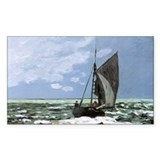 Storm by Monet Rectangle Decal