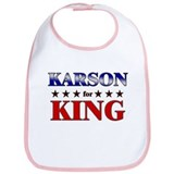 KARSON for king Bib