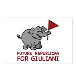 Future Republican for Giuliani Postcards (Package