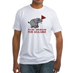 Future Republican for Giuliani Fitted T-Shirt