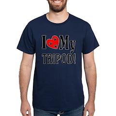 I Love My Tripod! Dark T-Shirt