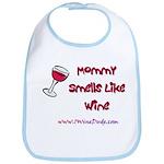 Mommy Smells Like Wine Bib