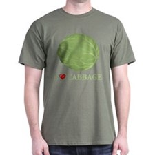 I Love Cabbage T-Shirt