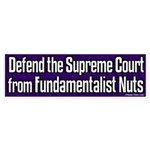 Defend Supreme Court Bumper Sticker