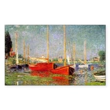 Argenteuil by Monet Rectangle Decal