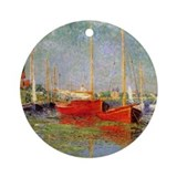 Argenteuil by Monet Ornament (Round)