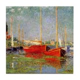 Argenteuil by Monet Tile Coaster