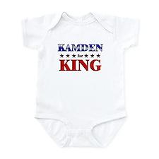 KAMDEN for king Onesie