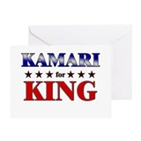 KAMARI for king Greeting Card