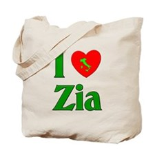 I (heart) Love Zia Tote Bag