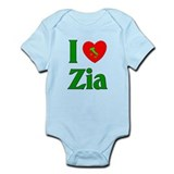 I (heart) Love Zia Onesie