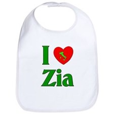 I (heart) Love Zia Bib