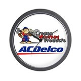 Funny Delco Wall Clock