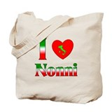 I Love (heart) Nonni Tote Bag