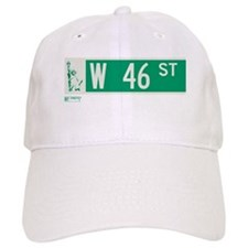 46th Street in NY Baseball Cap