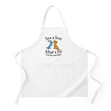 Save a Stray BBQ Apron