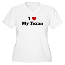 I Love My Texan T-Shirt