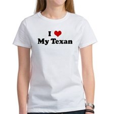 I Love My Texan Tee