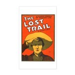 The Lost Trail Rectangle Sticker