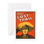 The Lost Trail Greeting Cards (Pk of 10)