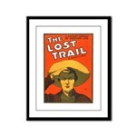 The Lost Trail Framed Panel Print