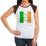 Bragh-Less Women's Cap Sleeve T-Shirt
