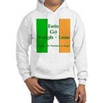 Bragh-Less Hooded Sweatshirt