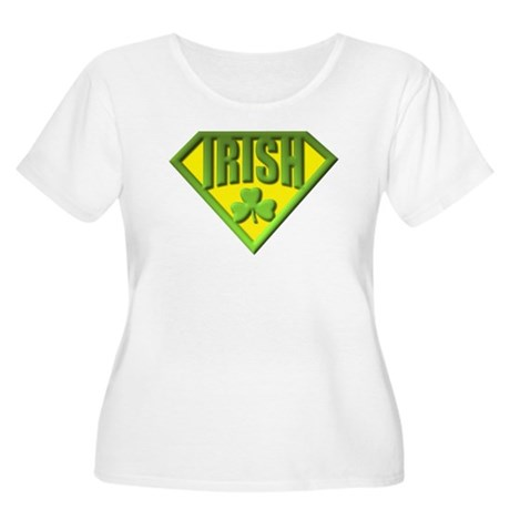 Super Irish Women's Plus Size Scoop Neck T-Shirt