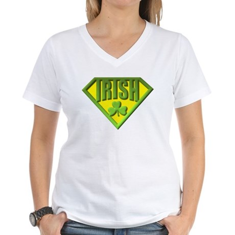 Super Irish Women's V-Neck T-Shirt