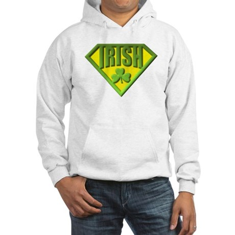Super Irish Hooded Sweatshirt