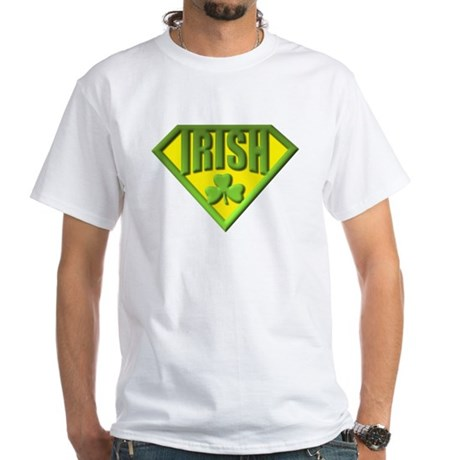 Super Irish White T-Shirt