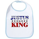 JUSTUS for king Bib