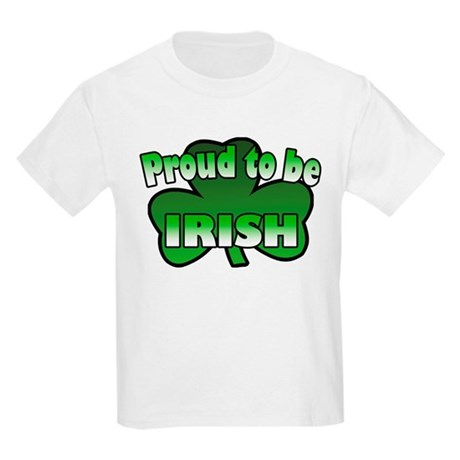 Proud to be Irish Kids Light T-Shirt