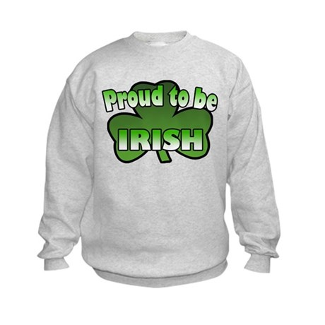 Proud to be Irish Kids Sweatshirt