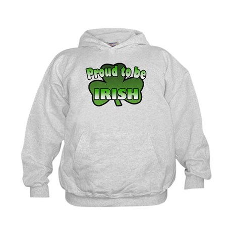 Proud to be Irish Kids Hoodie