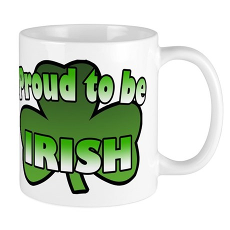 Proud to be Irish Mug