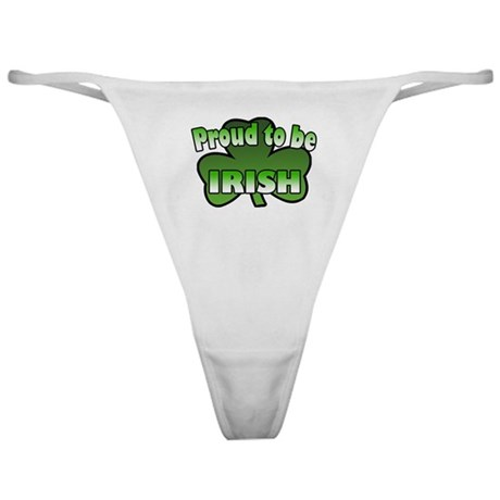 Proud to be Irish Classic Thong