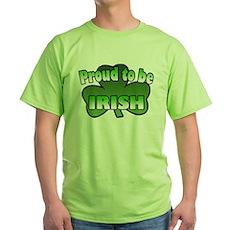 Proud to be Irish Green T-Shirt