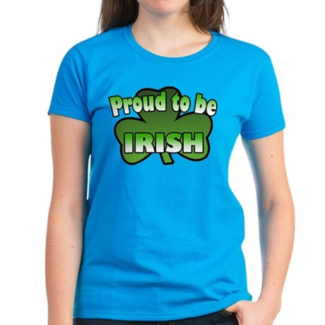 Proud to be Irish Women's Dark T-Shirt