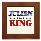 JULIEN for king Framed Tile
